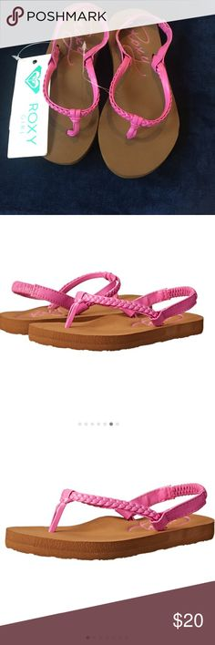 🆕Roxy  TW Cabo Slingback Sandal (Infant/Toddler Product Description Braid and straight synthetic upper, soft ethylene vinyl acetate footbed with embossed Roxy script From the Manufacturer Roxy is a brand of Quiksilver, Inc., the world's leading outdoor sports lifestyle company, which designs, produces and distributes a diversified mix of branded apparel, footwear, accessories and related products. Quiksivler's apparel and footwear brands represent a casual lifestyle for young-minded people…
