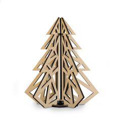 Mosaic Modern Plywood Christmas Tree tree, gift, christmas