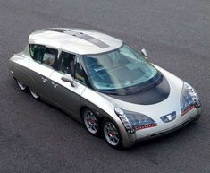 Eight-Wheeled Electric Cars