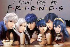 robin smash bros fire emblem super smash bros ike marth chrom lucina ssb4 smash bros 4 sm4sh I fight for my friends