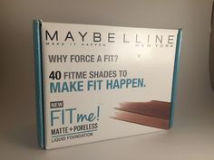 Maybelline FitMe Matte + Poreless Foundation #influenster #FitMeFoundation #contest #review #beautyblog