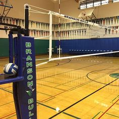Branson School Carbon Volleyball Poles by Sports Imports - #SICarbonNation