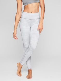 High Rise Jacquard Chaturanga Tight. Cute workout pants high waisted perfect for weight lifting.