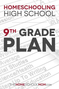 See our grade plan for homeschooling high school with a non-traditional learner. High School Curriculum, Homeschool Curriculum, Homeschooling, High School Schedule, School Tips, School Resources, Law School, School Stuff, Middle School