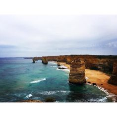 Overcast but still an amazing day! The Great Ocean Road  by dominiquelaurant