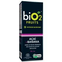Cereal em Barra BIO2 Fruits Açaí mais Banana com 6 Unidades Caixa 138g