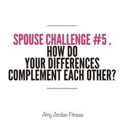 """Were already on day # 5 of our """"love your spouse"""" challenge! . I'm including…"""