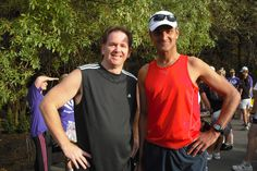 My first ever fun run - 5k - this is my friend Patrick!  March 2010 - 209lbs - 95kg!!!