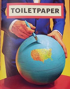 Toilet Paper is an artists' magazine created and produced by Maurizio Cattelan and Pierpaolo Ferrari, born out of a passion or obsession they both cultivate: images. The magazine contains no text; eac