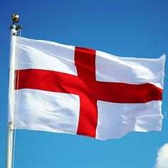 St #george cross england flag rugby #olympic game #decoration with eyelet 5 x 3ft, View more on the LINK: http://www.zeppy.io/product/gb/2/391488491986/