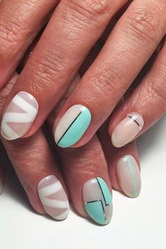 Lovely Summer Nail Designs for 2017 ★ See more: http://glaminati.com/summer-nail-designs-try-july/