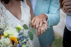 """Happy to be featured on One Fab Day with one of our coolest wedding of 2016. .  """"Tuscan Boho: Ines & Francesco's Italian Destination Wedding  Tattoos, sunflowers and a very special vintage dress."""""""