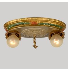 Stamped Brass Oval Pan W/Classical Motifs, C1925  Check with customer service for available quantities.