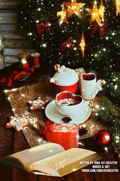 Christmas Animated Gif, Christmas Tree Gif, Winter Christmas Scenes, Merry Christmas Pictures, Christmas Scenery, Christmas Messages, Merry Christmas Card, Christmas Greetings, Christmas Time