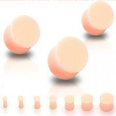 PLUG ECARTEUR acrylique invisible 5mm -14mm