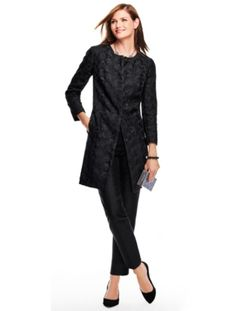 Talbots - Dancing Paisley Lace Topper | Jackets |