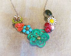 SouthernScraps Happenings: Brooches to necklace - Must Do Monday