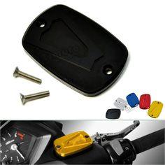 CNC tapa de depósito de líquido de freno para Yamaha T-Max 500 2008 - 2011 TMAX 530 2012 - 2015  https://www.amazon.es/dp/B01M6DPLSF