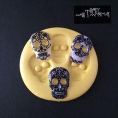 Sugar Skull Silicone Mold