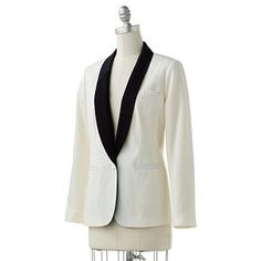 Lauren Conrad tuxedo jacket...my holiday outfit staple!! ;)