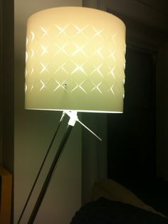 Another Ikea Lamp shade hack.