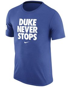 ebc540f6 Nike Men's Duke Blue Devils Basketball Practice T-Shirt & Reviews - Sports  Fan Shop By Lids - Men - Macy's