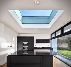 Passive House (PassivHaus Certified) home in Bandon Co Cork Ireland, by The PassivHaus Architecture Company, a registered architect. Architecture Company, Architecture Design, Tool Design, Design Model, Kitchen Columns, Shading Device, Timeline Design, Solar Shades