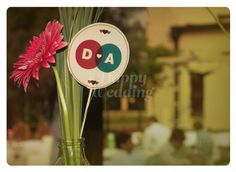 #Ambientacion de #boda D+A · Realizada por Happy #Wedding