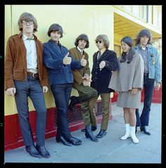 "jefferson airplane ""From the photoshoot for Signe's Farewell, 1966 """