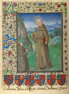 Franciscan monk | Book of Hours | France, Langres | ca. 1465 | The Morgan Library & Museum