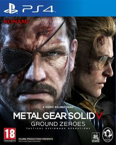Metal Gear Solid V: Ground Zeroes – For The Playstation Playstation 3 , Xbox One and Xbox 360 New For 2014 Xbox 1, Playstation Games, Xbox One Games, Ps4 Games, Metal Gear Solid, Killzone Shadow Fall, Arcade, Generation Game, Kojima Productions