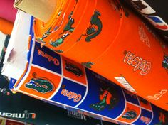 UF fabric at Hobby Lobby for $10.99 per yard. Can use discount coupon if not on sale!!