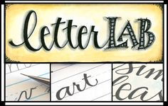 letterLAB - Lori Vliegen-Grab your lab coat and join me in the letterLAB! In this online class we'll explore and experiment with ways to use your very own handwriting to add unique touches to your journal pages and other art projects. Doodle Lettering, Creative Lettering, Lettering Styles, Lettering Ideas, Lettering Tutorial, Typography Art, Just In Case, Just For You, Improve Your Handwriting
