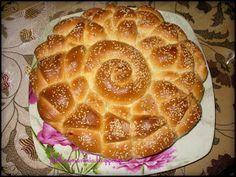 ΚΡΟΥΑΣΑΝΟΠΙΤΑ ΑΛΜΥΡΗ Braided Bread, Greek Recipes, Apple Pie, Waffles, Oven, Rolls, Food And Drink, Pizza, Cookies