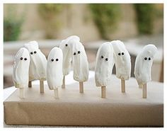 Ghost Themed Birthday + Halloween Party Ideas