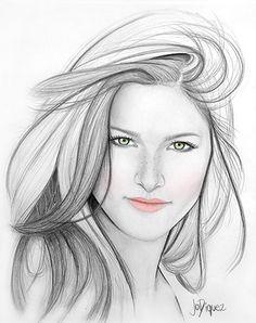 Portraits by Jo Diquez #art #drawing