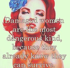 Damaged women