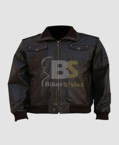 VINTAGE BLACK MOTORCYCLE LEATHER OUTWEARS