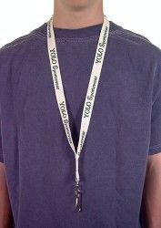 Customize your own lanyard at MichPromos to give away at trade shows!