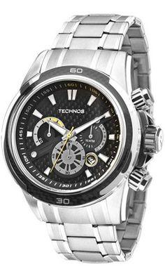Relógio Technos Performance TS Carbon JS26AC 1P 1b80ba5cb4
