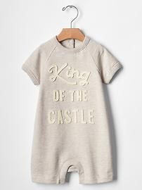 King sweatshirt one-piece