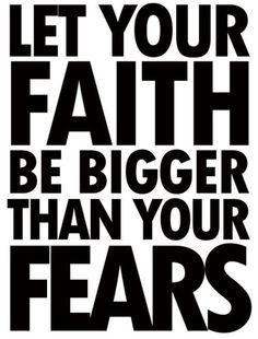let your faith...