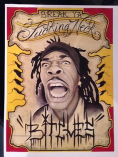 Busta Rhymes Print By Jimmy Rogers Available For Purchase At Jimmyrogerstattoo