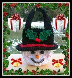 Frosty Snowman Purse