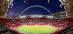 Entrar al estadio Wembley