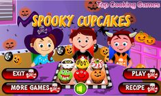 Play More Games, Cake Games, Cooking Games, Halloween Cupcakes, Quick Recipes, Hallows Eve, Learning, Apps, Store