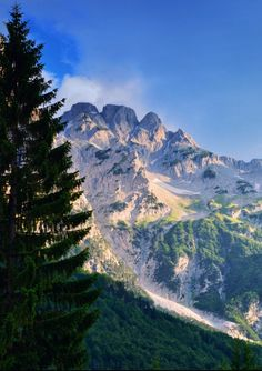 Valbona, Albanian alps. by Eni Shkembi Valbona, Albania. Valbona National Park, Northeastern Albanian Alps, will undergo in UNESCO's protection.