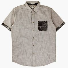 KIX & LIDZ: Ezekiel The Rivera Short Sleeve Shirt - Dark Gray...This is The Rivera Short Sleeve Shirt made by Ezekiel. The shirt is Dark Gray and is made of 100% Cotton and is made in China. You can purchase this shirt online at Cranium Fitteds and other Ezekiel retailers.