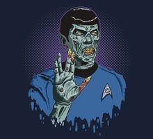 Spock as Zombie