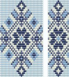 схема гердана (гайтана) станочное ткачество pretty peyote design for bracelet